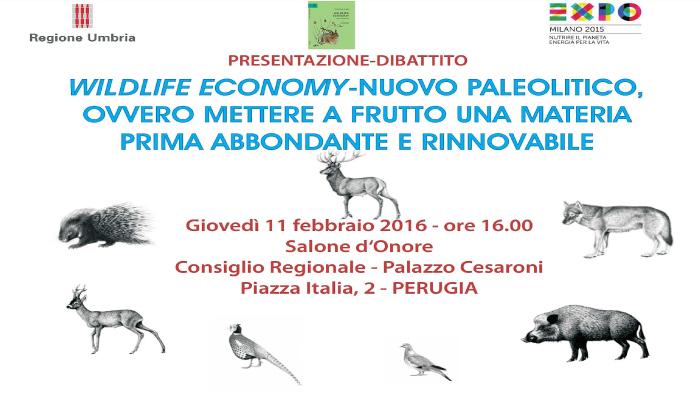 Presentazione dibattito Wildlife Economy 11 febbraio 2016