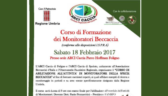 Corso di Specializzazione Beccaccia Sabato 18 Febbraio 2017